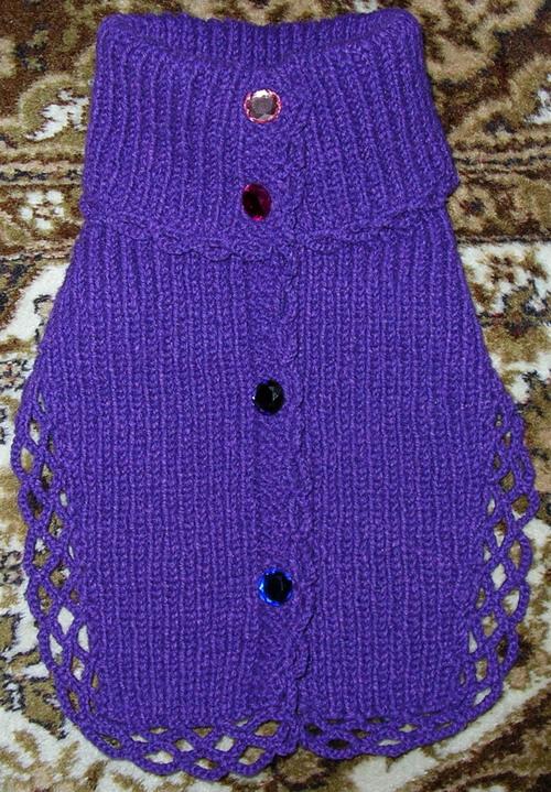 шарф манишка крючком схемы - Сумки.